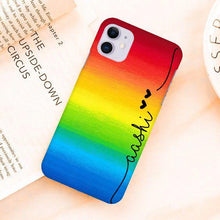 Load image into Gallery viewer, Rainbow Design Slim Phone Case Cover - ShopOnCliQ