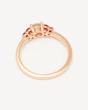 Load image into Gallery viewer, Damask Ring – Rose Gold (0.50ct)