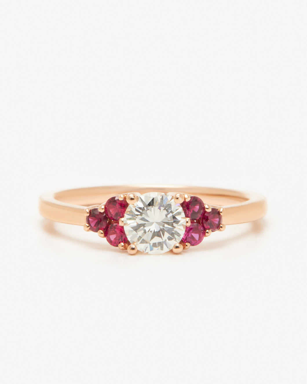 Damask Ring – Rose Gold (0.50ct)