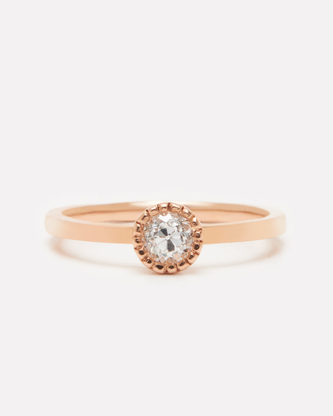 Moss Ring – Rose Gold (0.37ct)