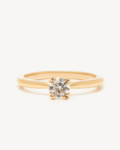 Load image into Gallery viewer, Noisette Ring – Yellow Gold (0.38ct)