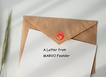 A letter from Marvo Founder