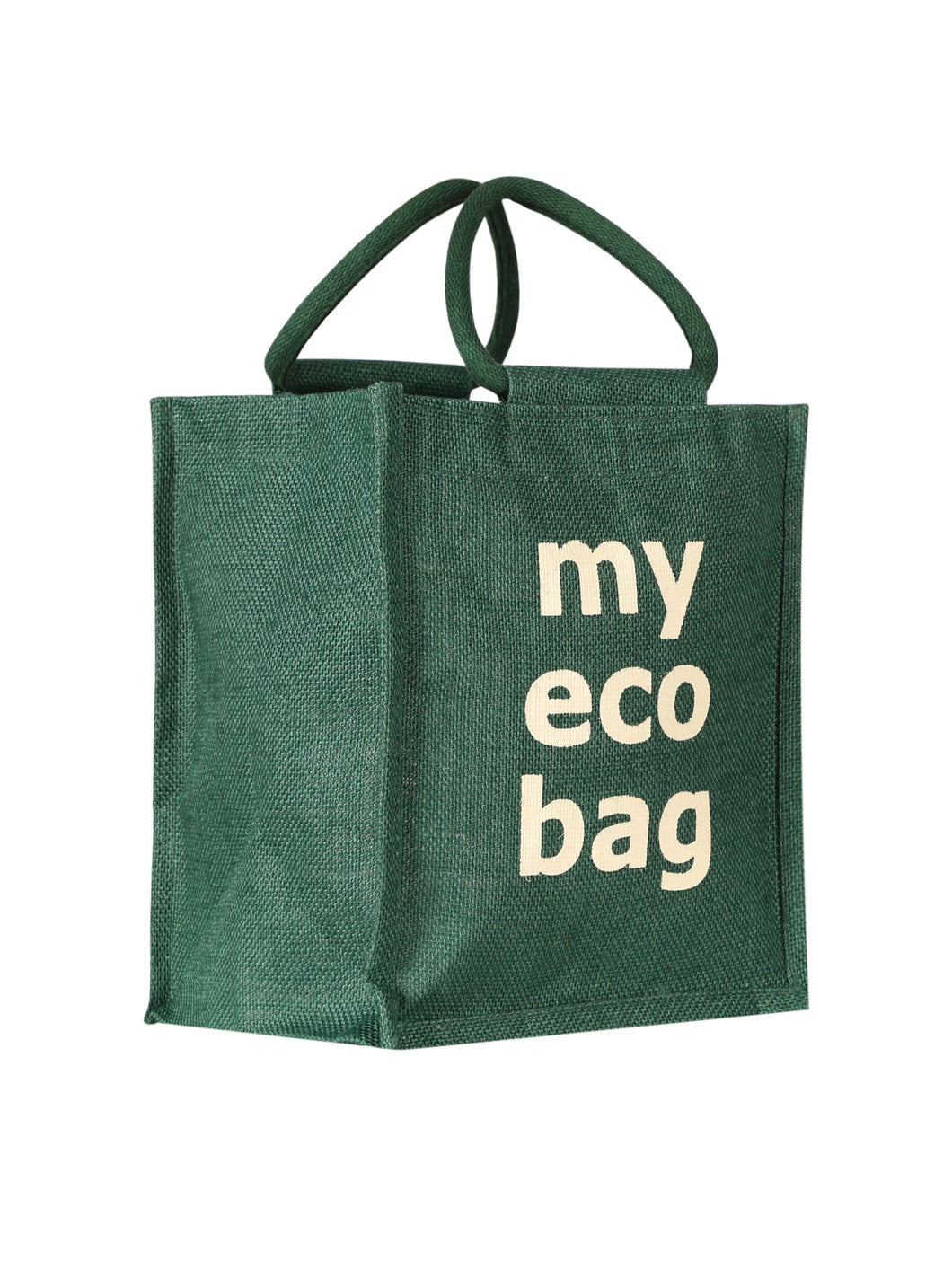 11X10 MY ECO BAG (B-203-GREEN)