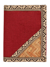 Load image into Gallery viewer, JUTE WALLET 3 FOLD (A-020-MAROON)