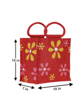 Load image into Gallery viewer, 10X10 MULTI FLOWER LUNCH (B-106-RED)
