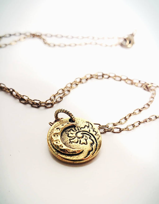 Good Vibes Gold Color Valentine Necklace Gift
