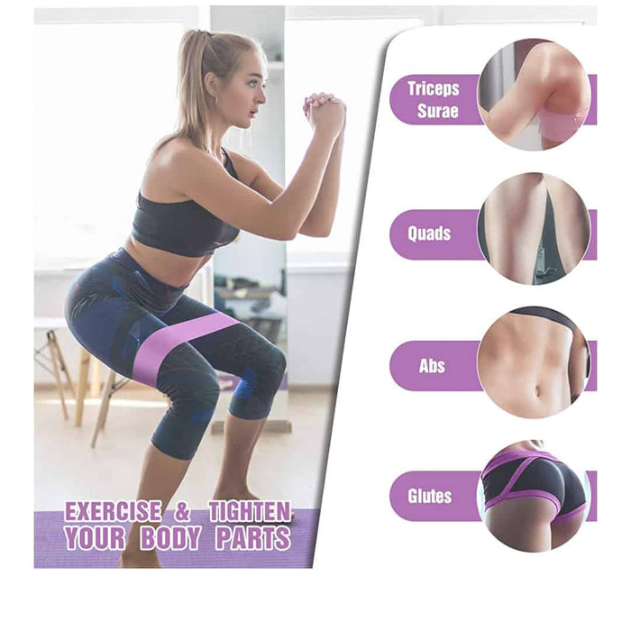 Booty Resistance Bands - Leg and Butt Exercises