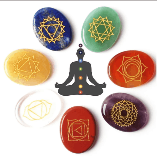 High Quality Set of 7 Chakra Stones