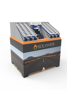 Solviver is not available in stores now. Go to Solviver.com to order.