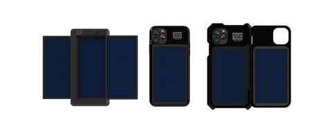 Solviver patented solar mobile charger for cell phones