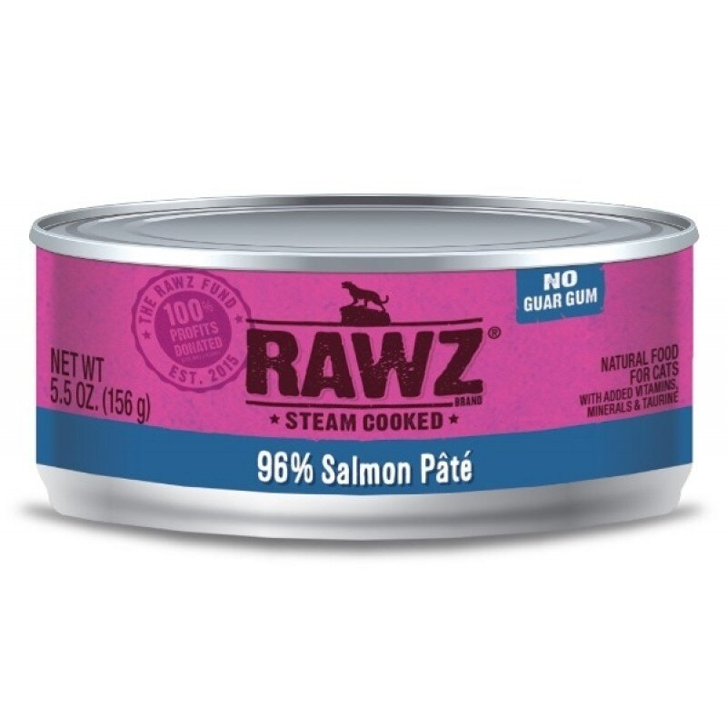 RAWZ Canned Cat Pate (5.5oz)