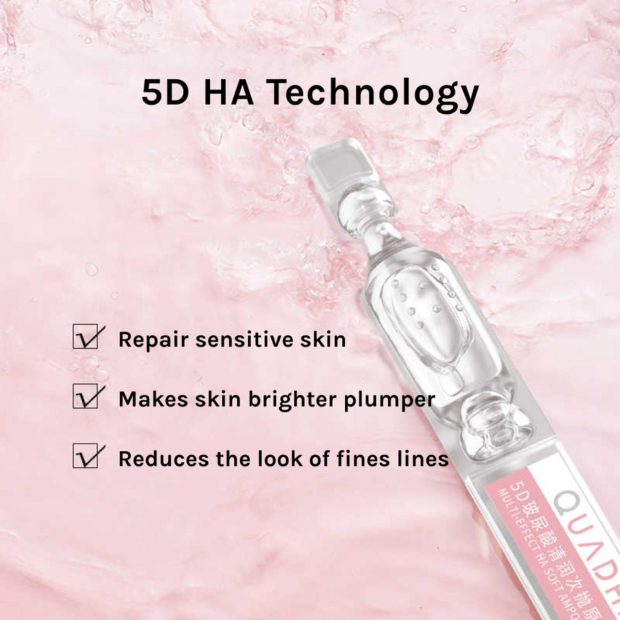 QuadHA | Multi-Effect Hyaluronic Acid Ampoules Serum