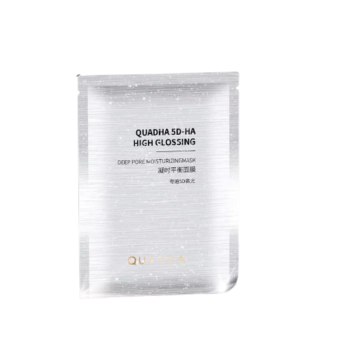 QuadHA | 5D Hyaluronic Acid High Glossing Hydrating and Brightening Face Mask (5 sheets)