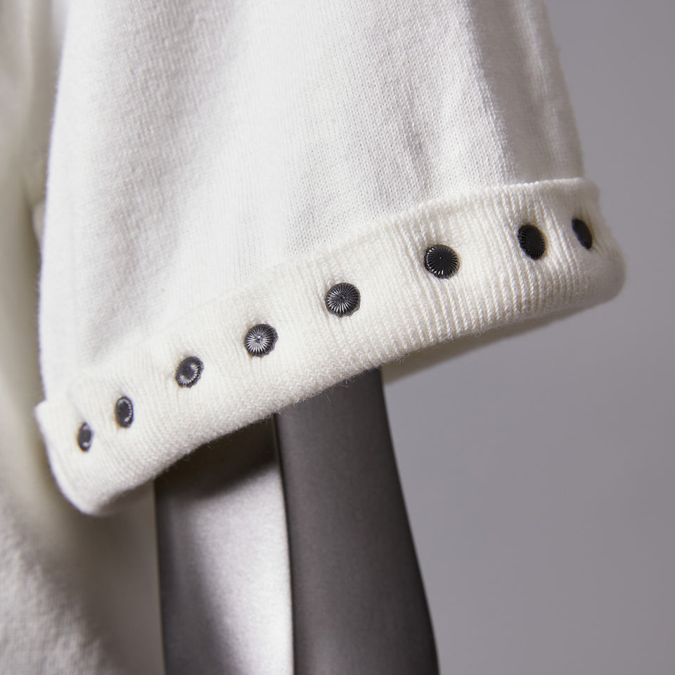 TYPE-1 Knit Half Sleeves Organic Cotton Sleeve Parts (White)