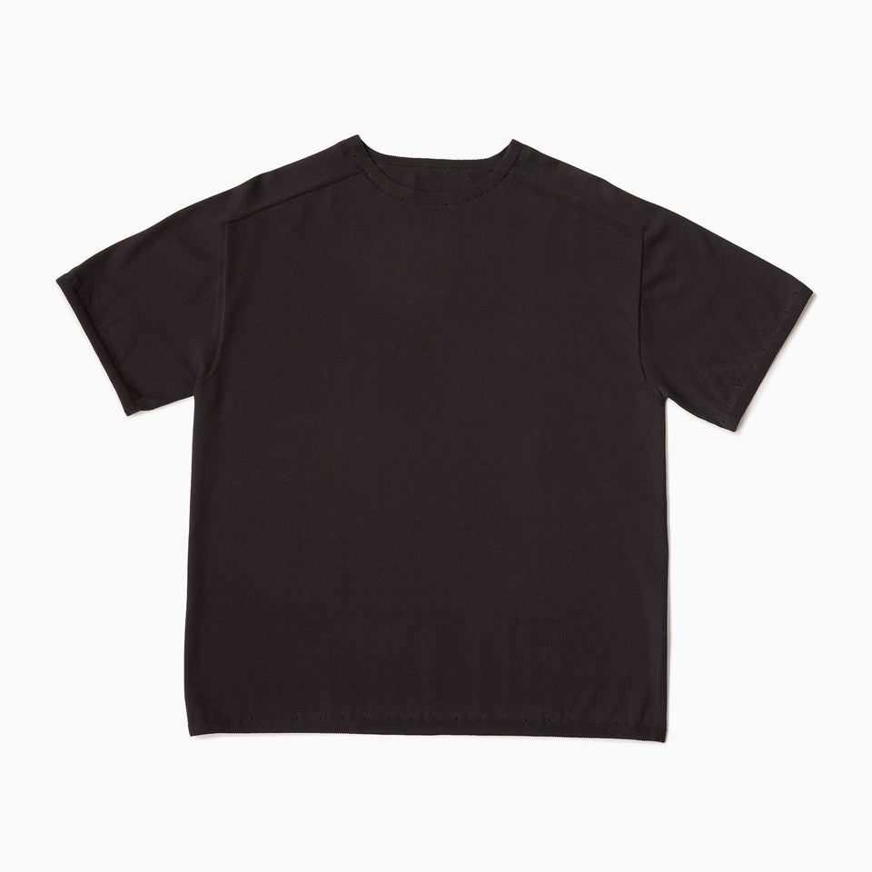 TYPE-1 Knit Half Sleeves Organic Cotton Body Part (Black)