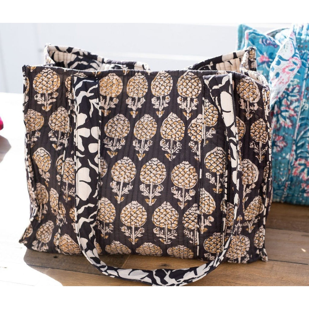 Quilted reversible bag
