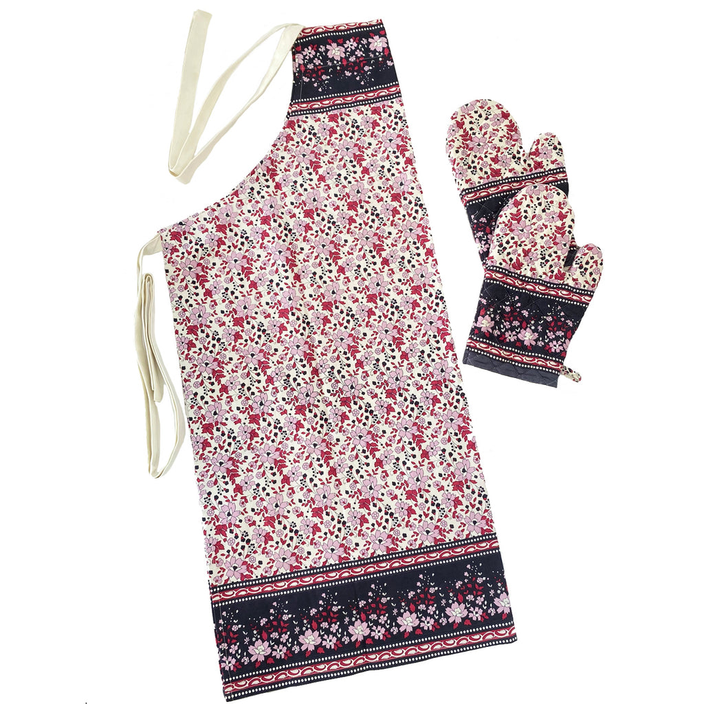 Apron and Mitt set