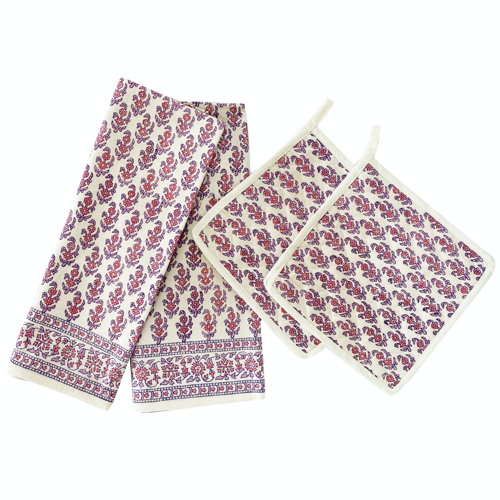 Dish Towel and Pot Holder set
