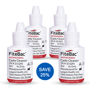 Four Pack - FiteBac Antimicrobial Cavity Cleanser