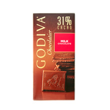 Load image into Gallery viewer, Godiva Tablet Milk Chocolate 31%