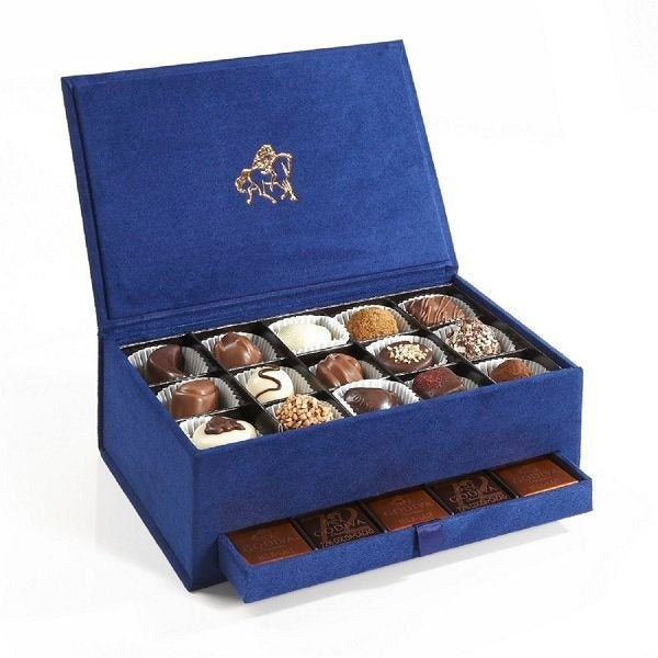 Godiva Navy Blue Royal Box - Small