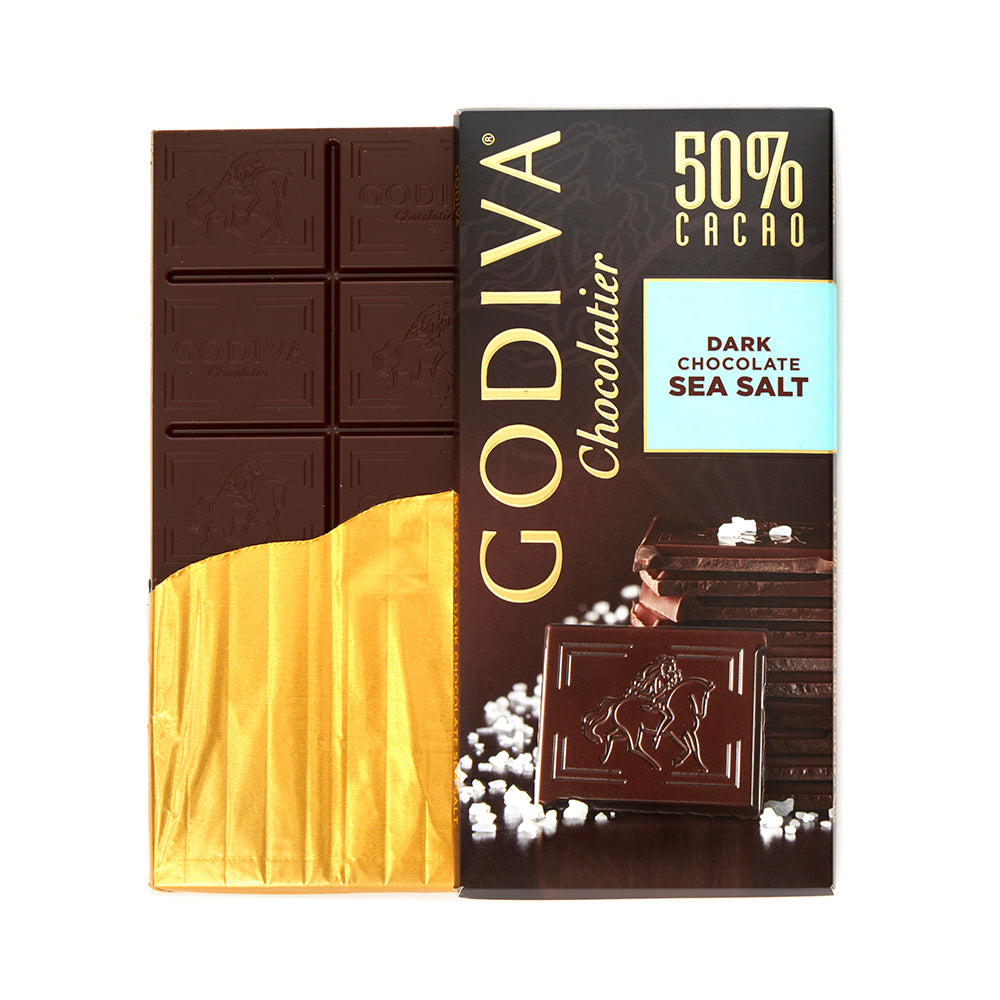 Godiva Tablet Dark Chocolate 50% Sea Salt