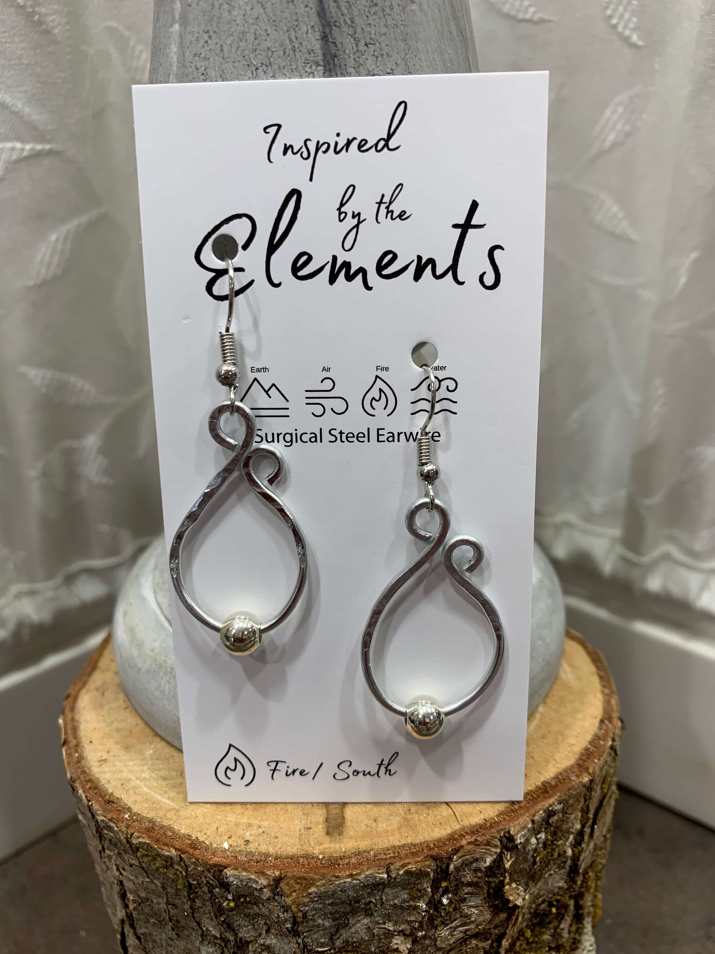 Candle Light Earrings | Inspired by the Elements | 20 Colors