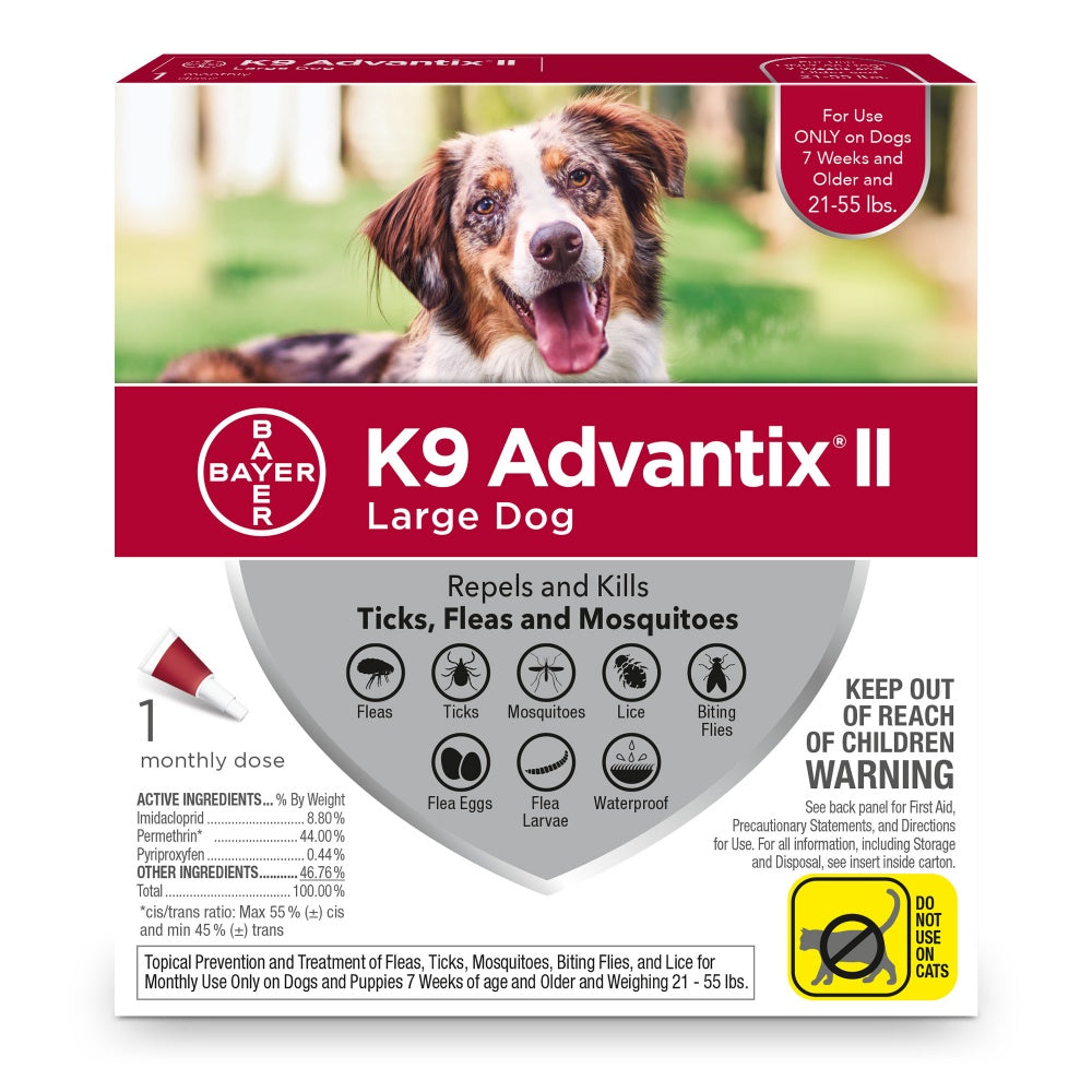 Bayer K9 Advantix II Large Dog