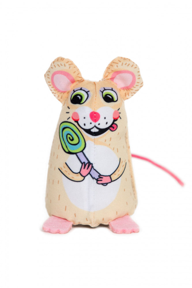 Fuzzu Sweet Baby Mice Lolli Cat Toy