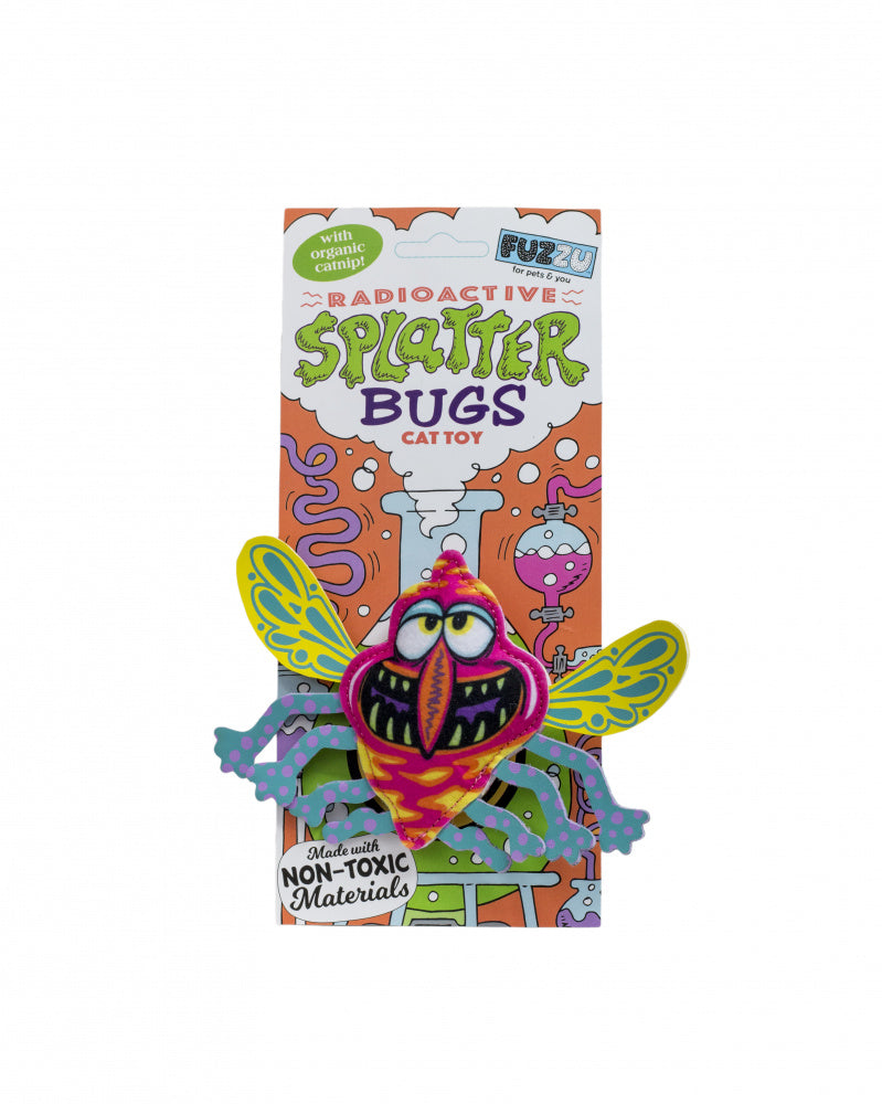 Fuzzu Splatterbugs Zinger Cat Toy