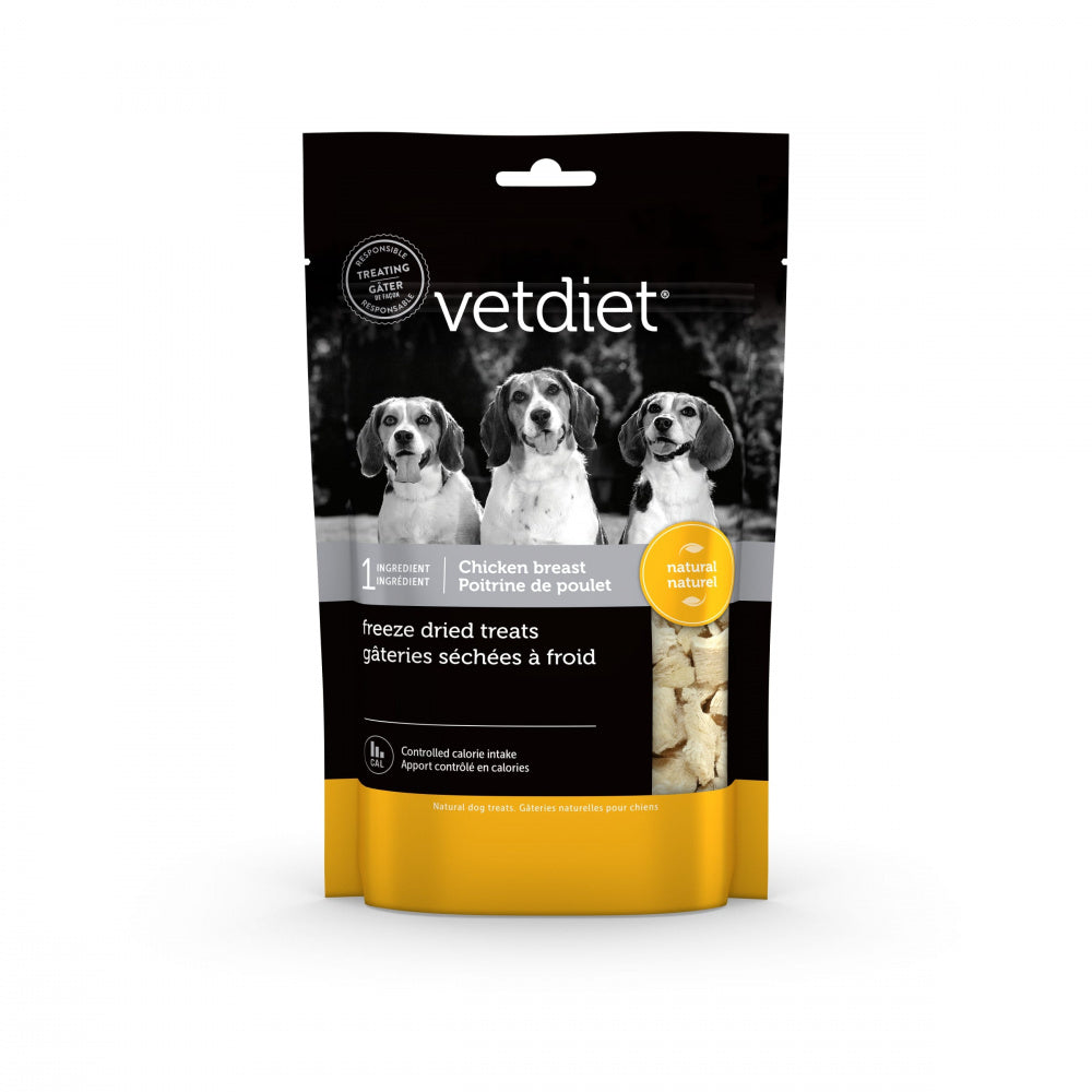 Vetdiet Freeze Dry Chicken Breast Dog Treat
