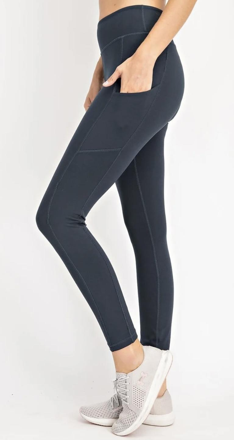 Nocturnal Navy Leggings
