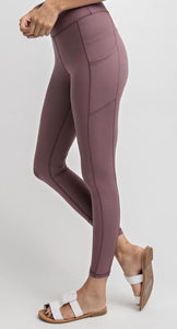 Dark Mauve Leggings