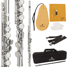 Load image into Gallery viewer, Cecilio High Grade Student C Flute With Accessories