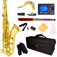 Load image into Gallery viewer, Mendini by Cecilio MTS-L B Flat Tenor Saxophone Accessories