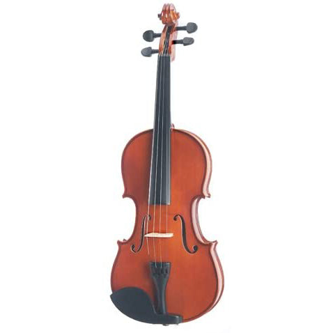 Mendini MV200 Solid Wood Violin - Natural Varnish Finish
