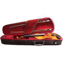 Load image into Gallery viewer, Mendini MV400  Wood Violin Case