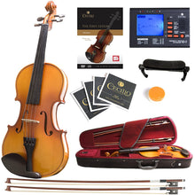 Load image into Gallery viewer, Mendini MV400  Wood Violin With Accessories