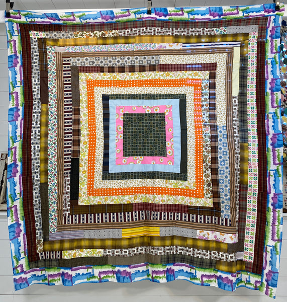 Fun and Funky Quilt Top