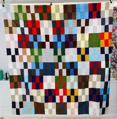 6 Patch Quilt Top