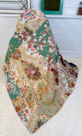 Antique Flower Quilt