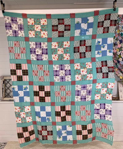 9 Patch Quilt Top