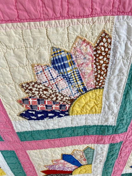 Grandmothers Fan Quilt
