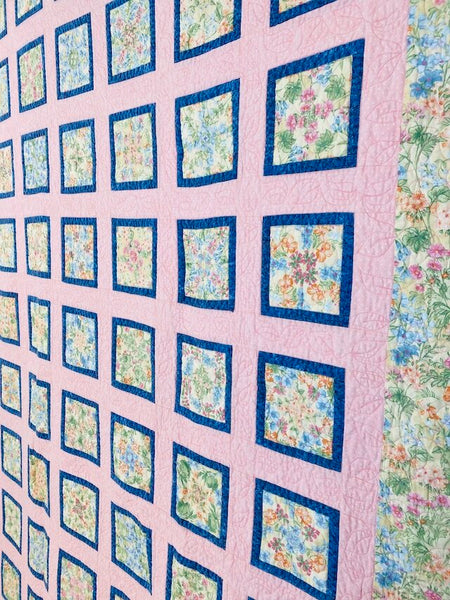 Four Patch Posy Quilt