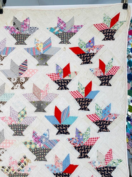 Flower Basket Quilt