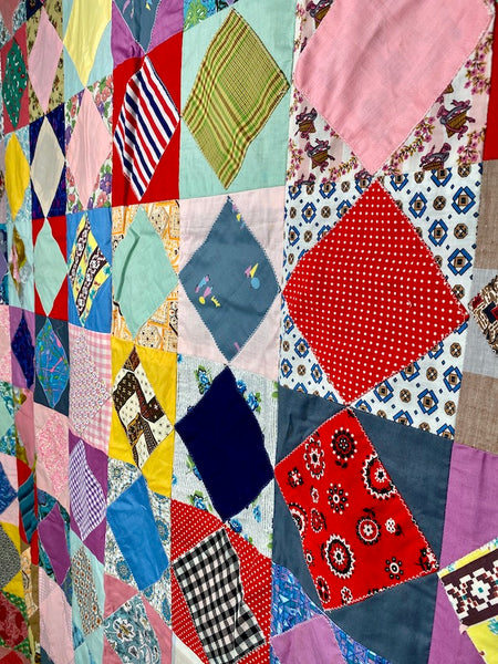 Colorful Quilt Top