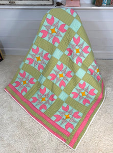Bleeding Heart Quilt