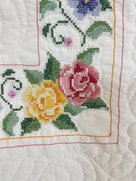 Cross Stitch Quilt