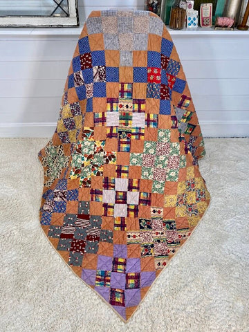 9 Patch Checkerboard Quilt