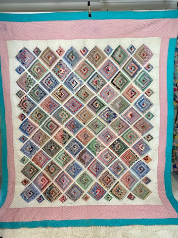 BIG Log Cabin Quilt